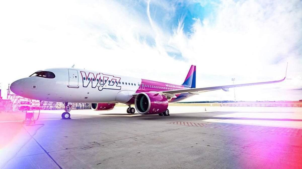 Рейси Wizz Air з Одеси в Італію