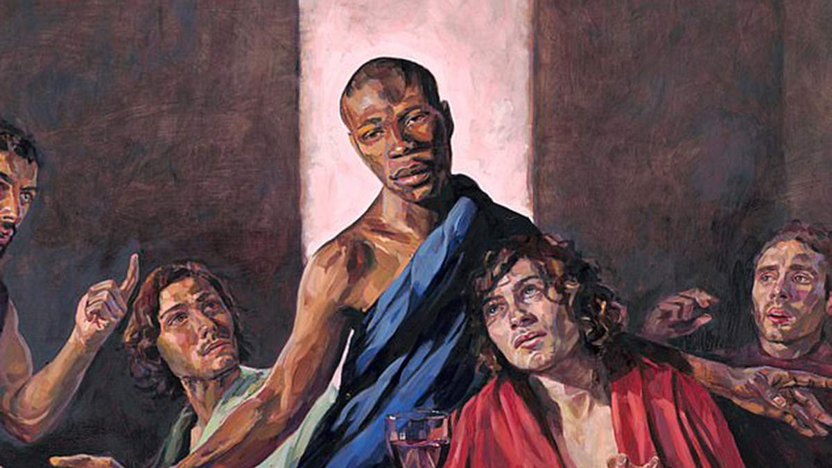 """""""Таємна вечеря"""" з темношкірим Христом"""