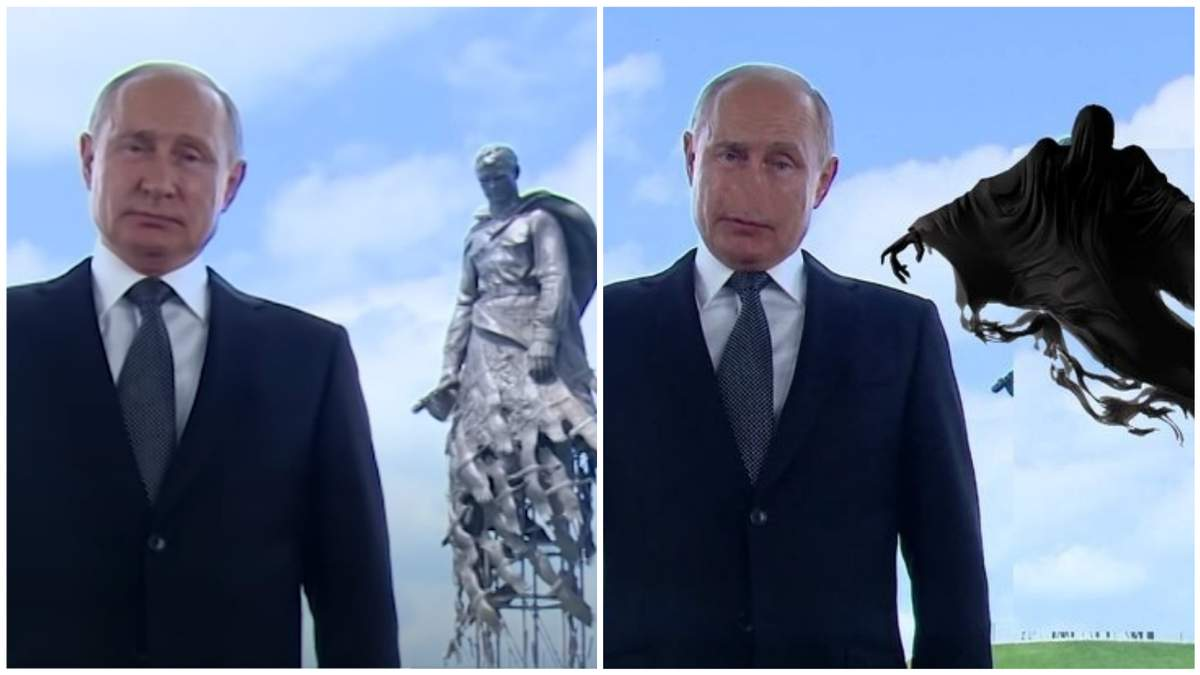 В Сети смеются над Путиным
