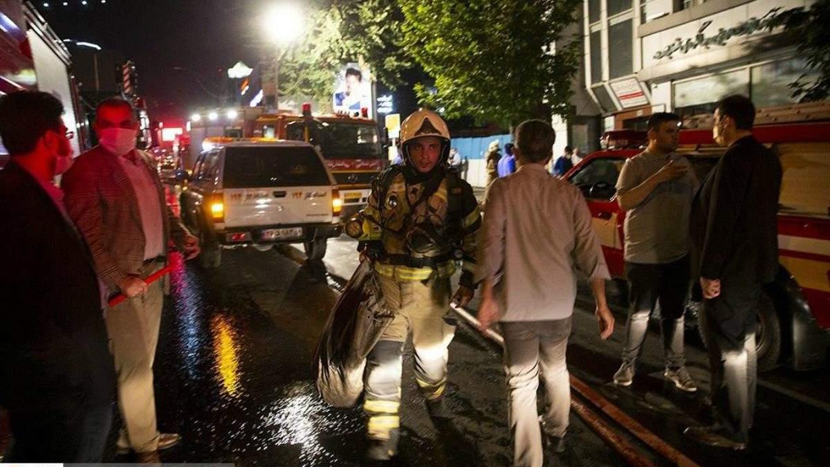 Взрыв в больнице в Тегеране