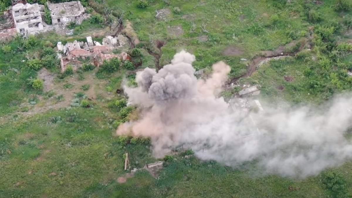 Розбита позиція бойовиків Ходаковського