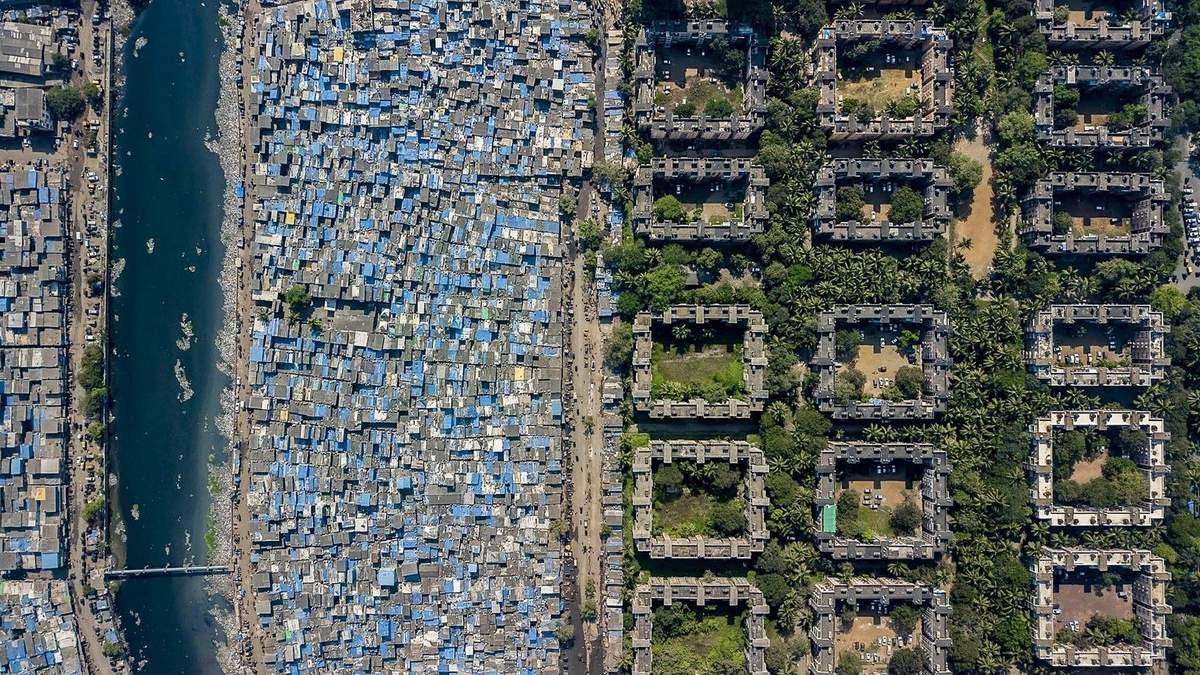 Соціальна нерівність часто добре простежується саме з повітря