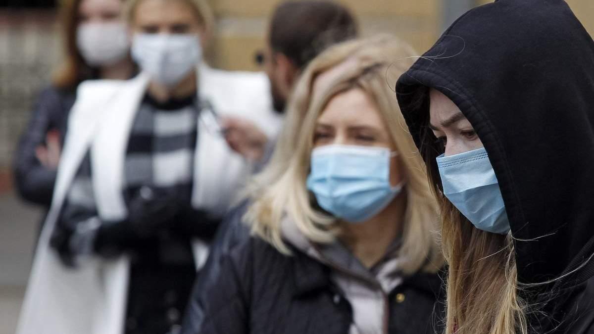 Штрафи за відсутність масок у публічних місцях і транспорті: суми
