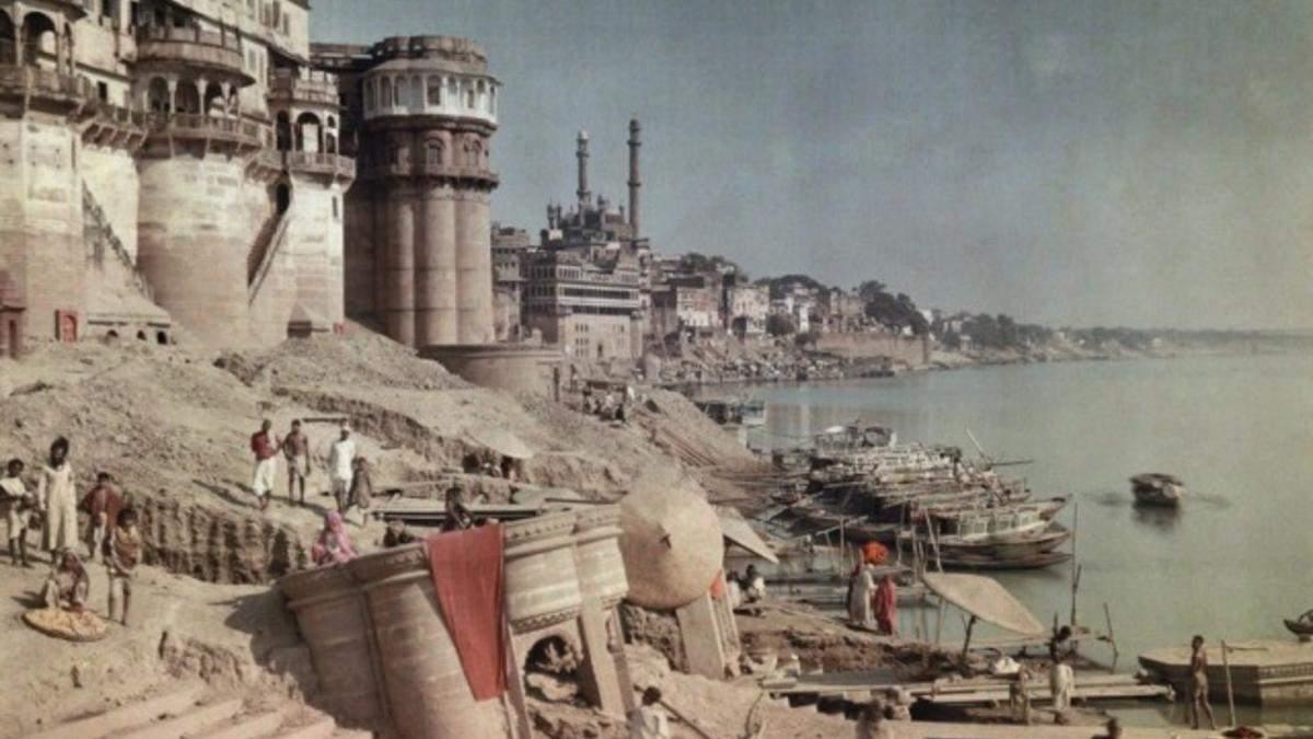 8 цветных фотографий начала 20 века