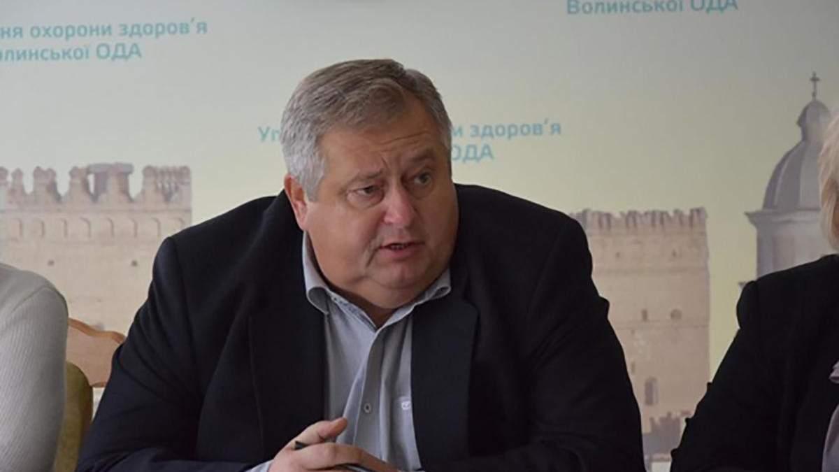 Головний медик Волині Валерій Руцький захворів на COVID-19 - 24 Канал