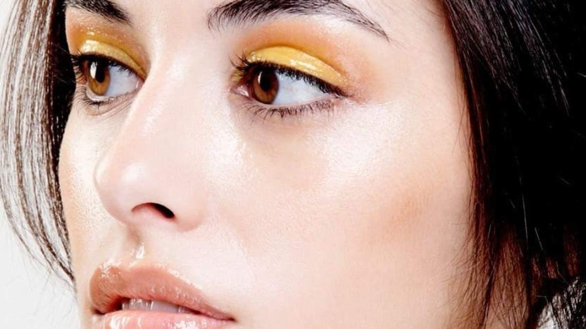 Летний макияж – привлекательный тренд лета 2020: макияж Glossy Eye