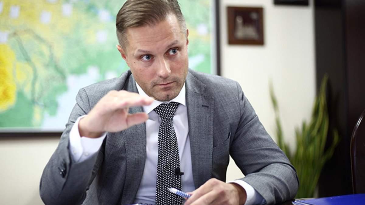 Чому голова АМКУ Терентьєв написав заяву про відставку