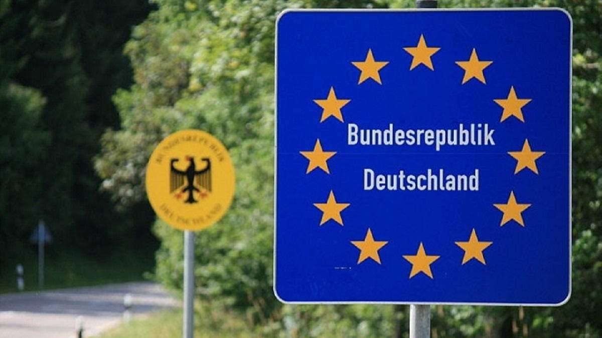 Німеччина поки не відкриватиметься для українців