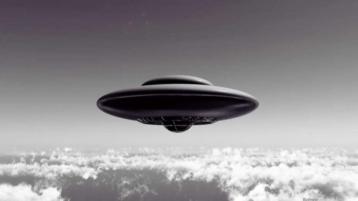 НЛО в архивных фото