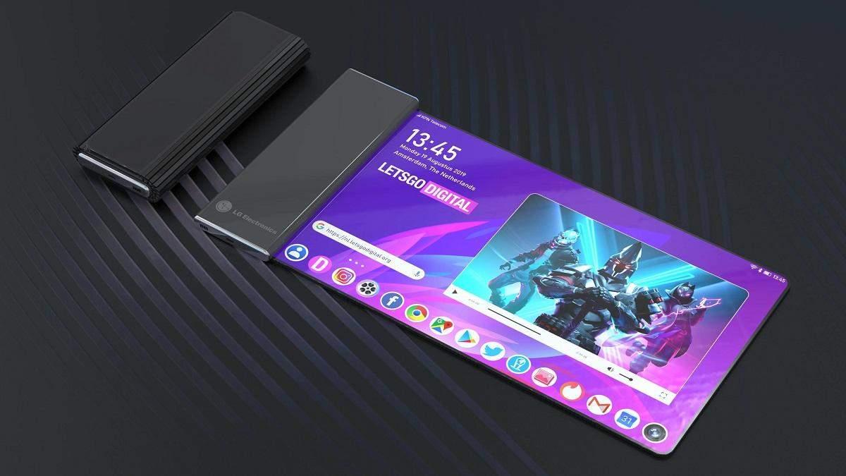 LG готує телефон з гнучким екраном-трубочкою