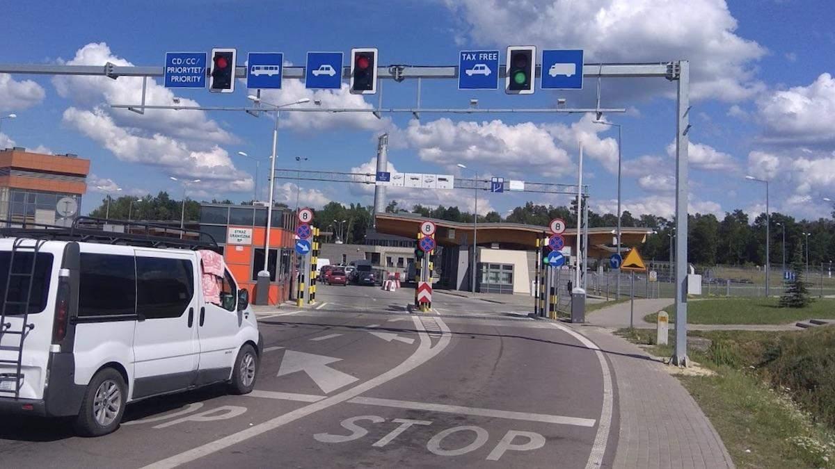 Пункт пропуску Будомєж – Грушів з 6 липня 2020 відкрився