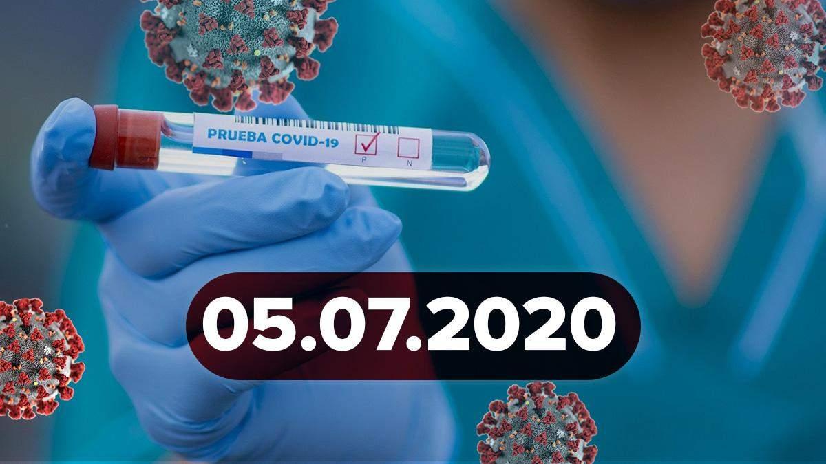 Коронавірус Україна, світ за 5 липня 2020: статистика, новини