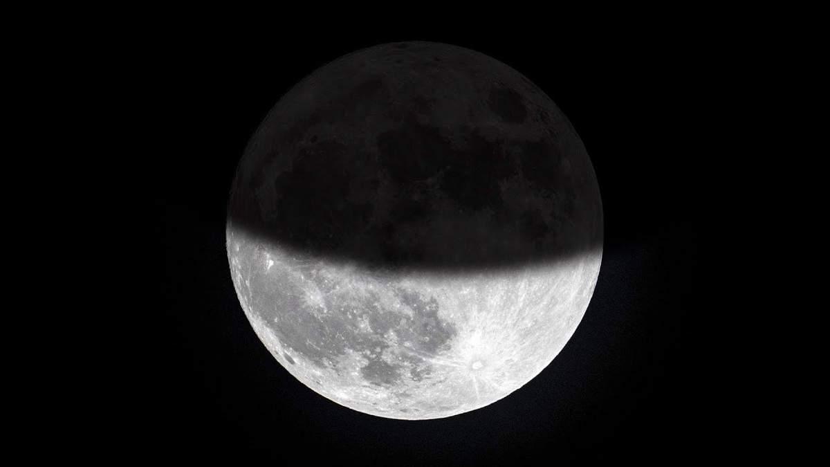 Місячне затемнення 2020, Україна – коли дивитися, де буде видно