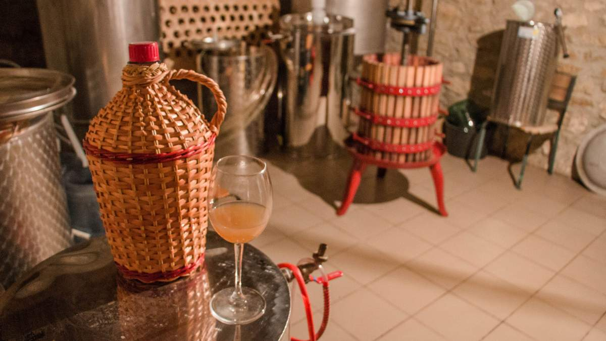 Сім'я з Миколаєва заснувала власну виноробню Сливино
