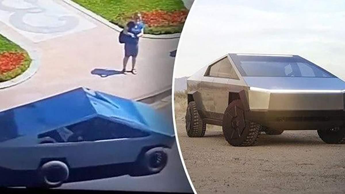 Самодельная Tesla Cybertruck в Одессе