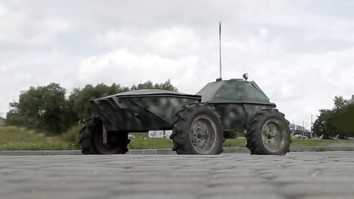 """Техніка війни: Чим вражає система """"Черепашка"""". Що вміє робот THeMIS для заміни солдата"""