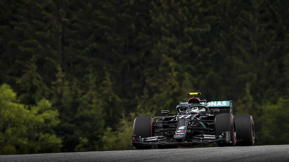 Формула 1: результаты квалификации гран-при Австрии 2020