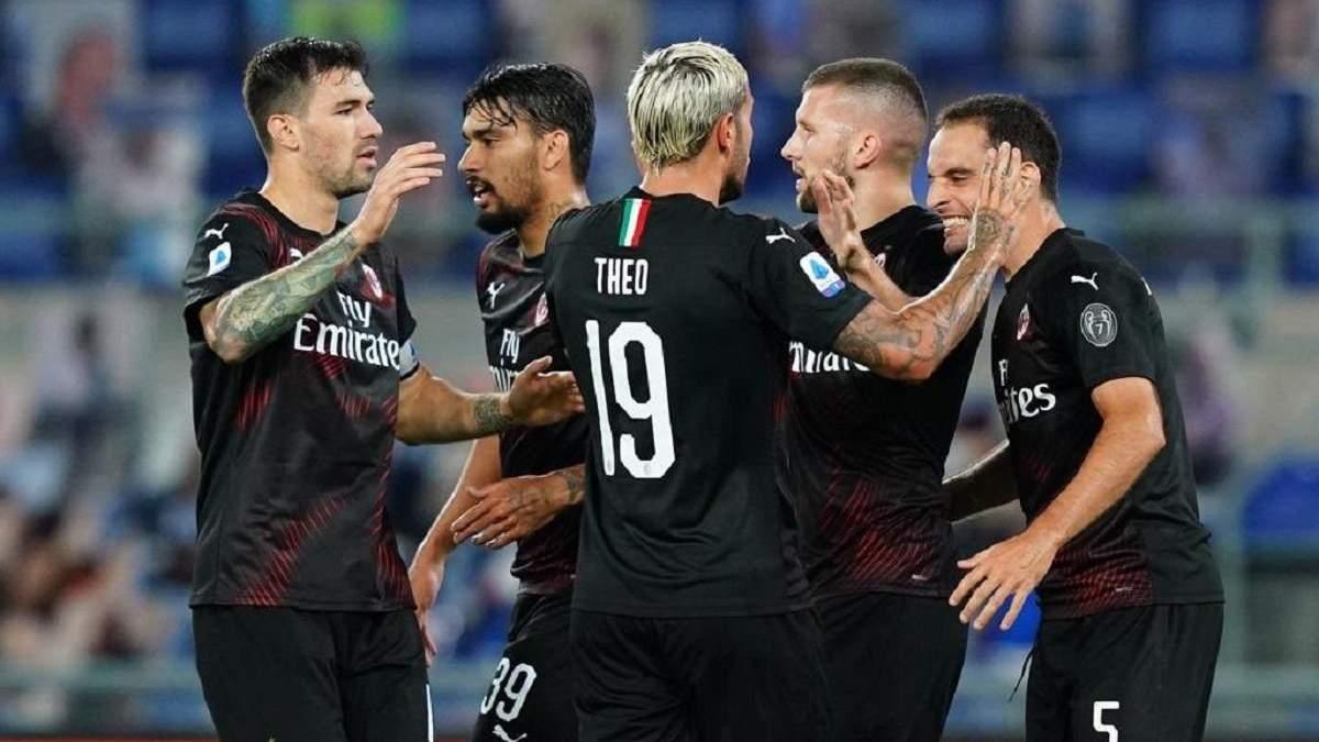 Лацио – Милан: результат матча и видео голов