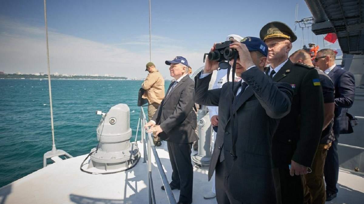 Парад кораблів до Дня ВМС України 05. 07. 2020 в Одесі: фото, відео