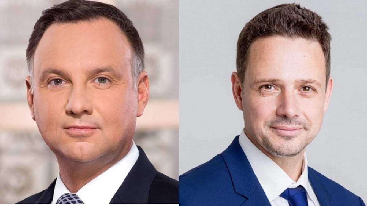 Президент Польщі Анджей Дуда програє в другому турі виборів, – соцопитування