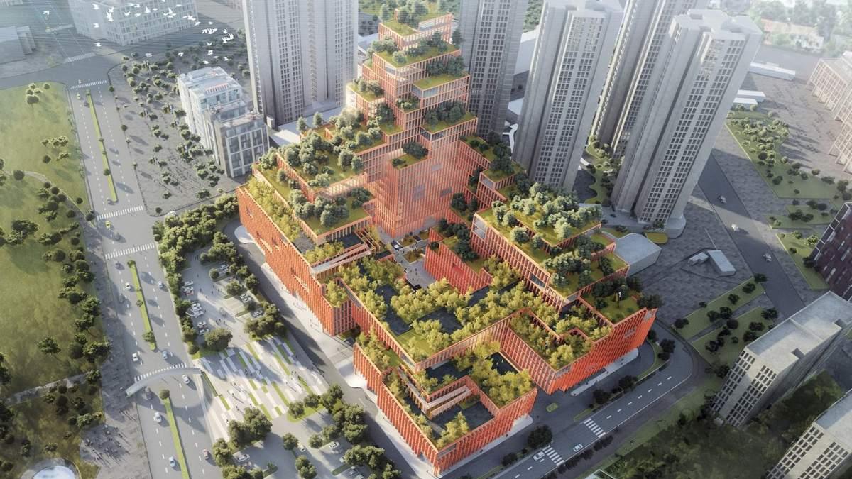 Здание будет достаточно инновационным