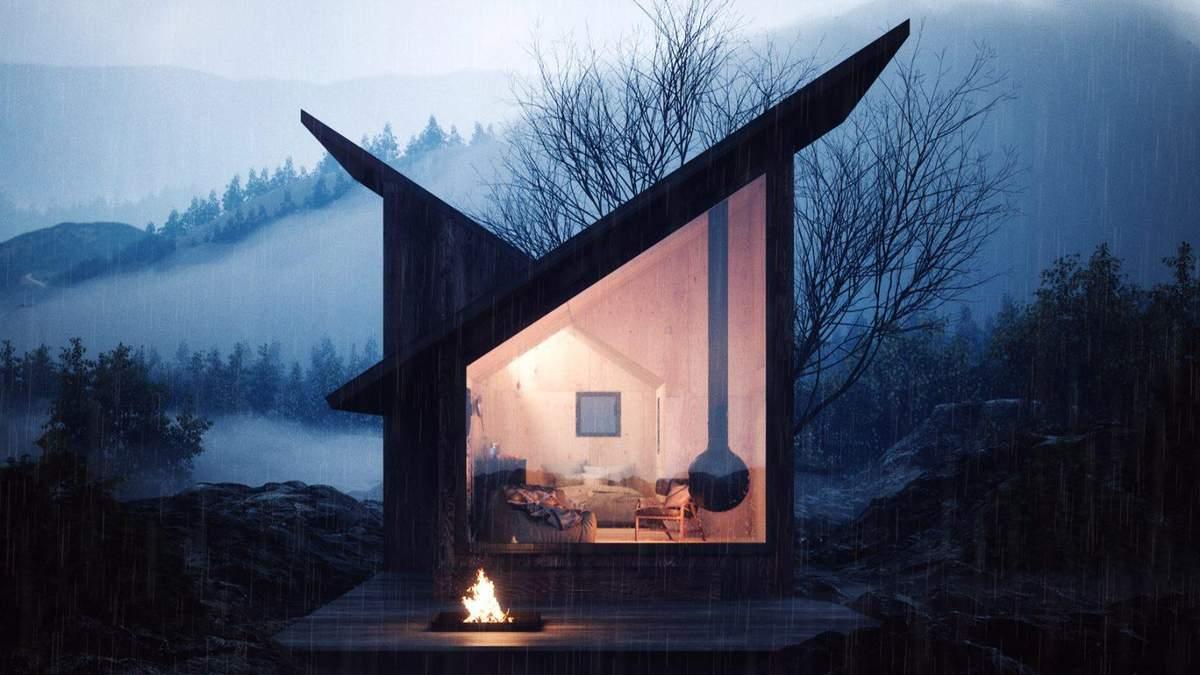 Дом способен выдержать горные погодные условия