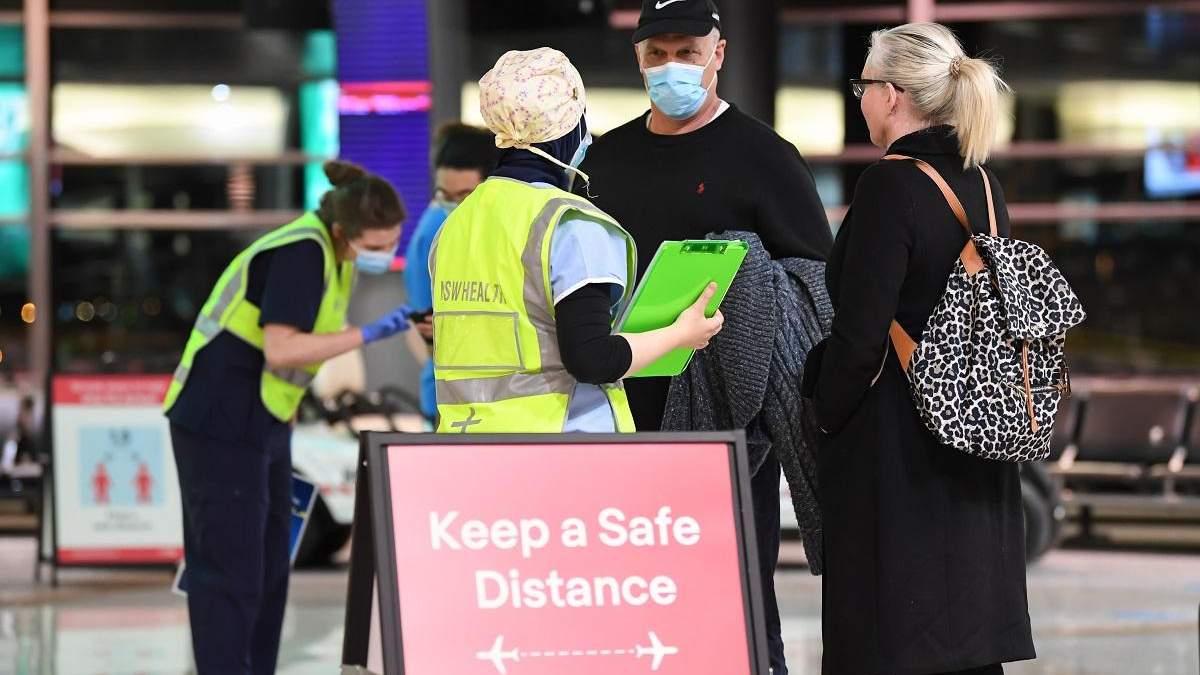 Вспышка COVID-19 в Австралии: между штатами закрывают границу