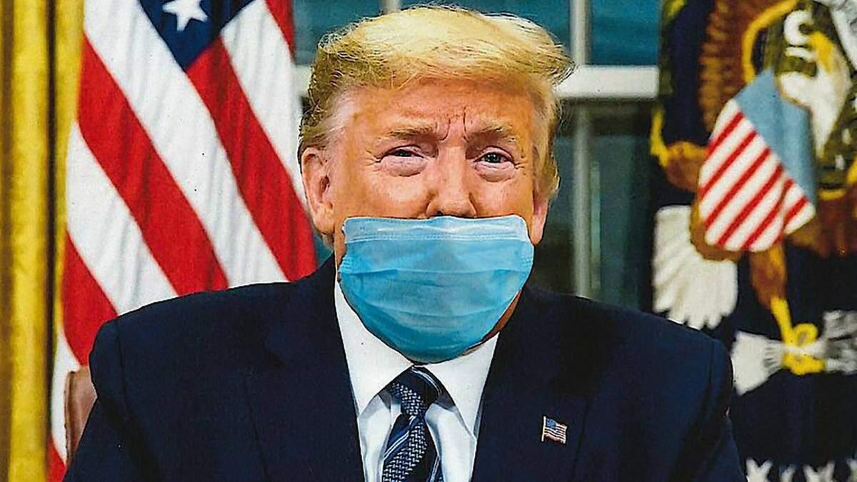 Инструкция по вирусу и часть провала: Трампа обвинили в том, что в США не носят маски