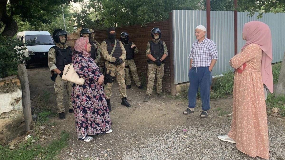 Обшуки у кримських татар 7 липня 2020: фото