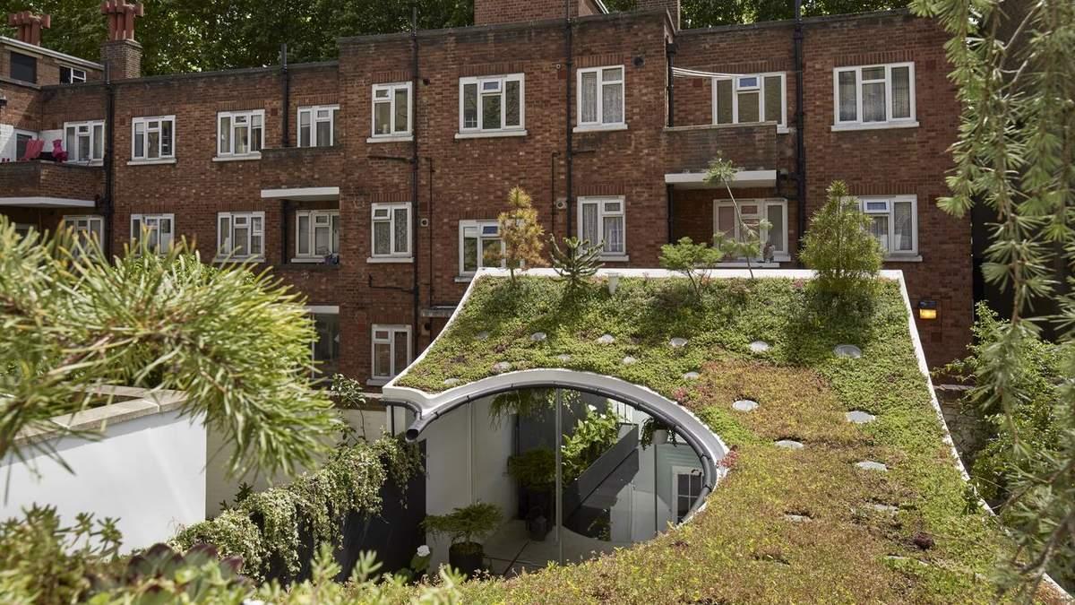 Будинок став зеленим острівцем посеред однакової архітектури