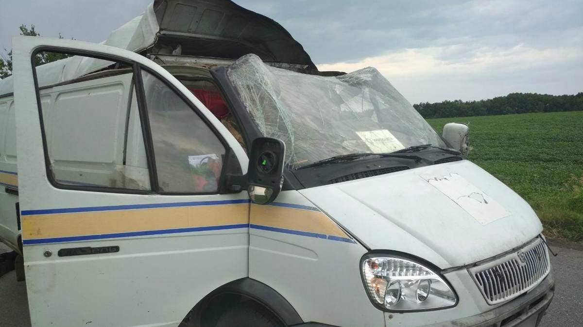 Підрив авто Укрпошти у Полтавській області: викрали 2,5 млн
