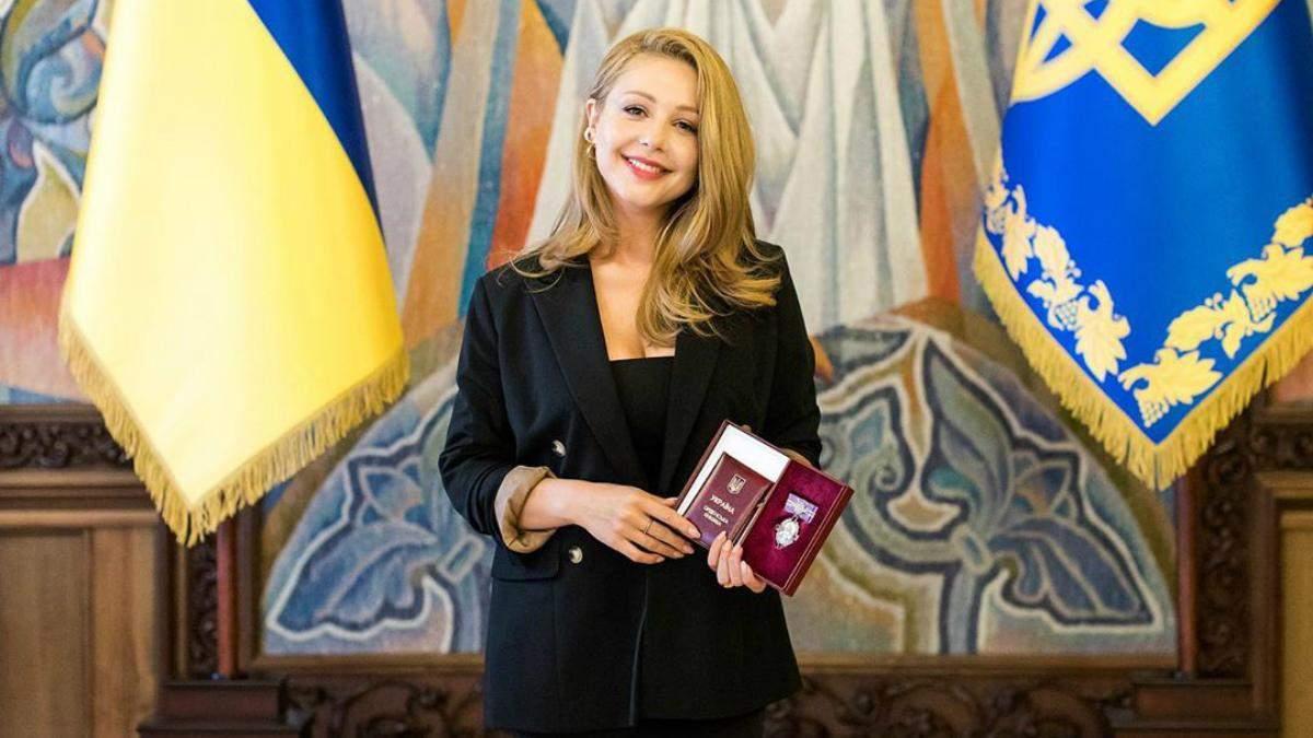 Тіна Кароль отримала орден княгині Ольги III ступеня