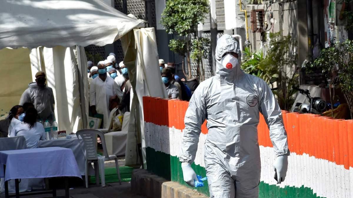 Індія страждає від коронавірусної хвороби