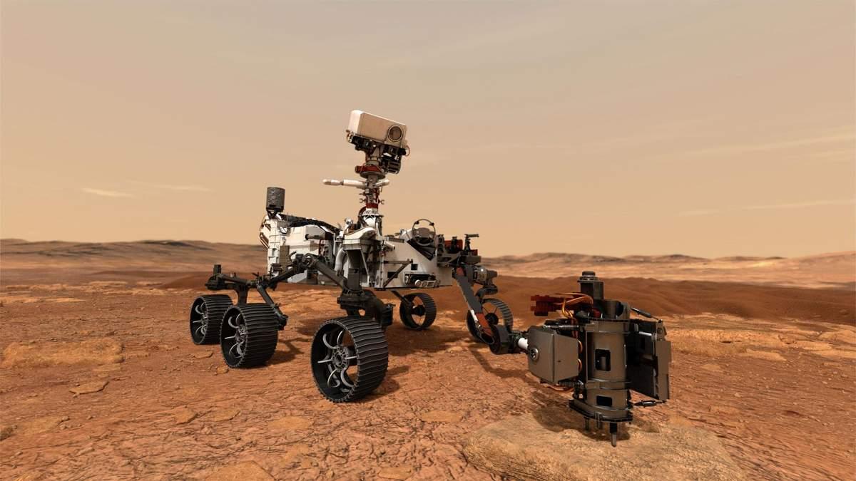 Марсохід Curiosity відправився у подорож