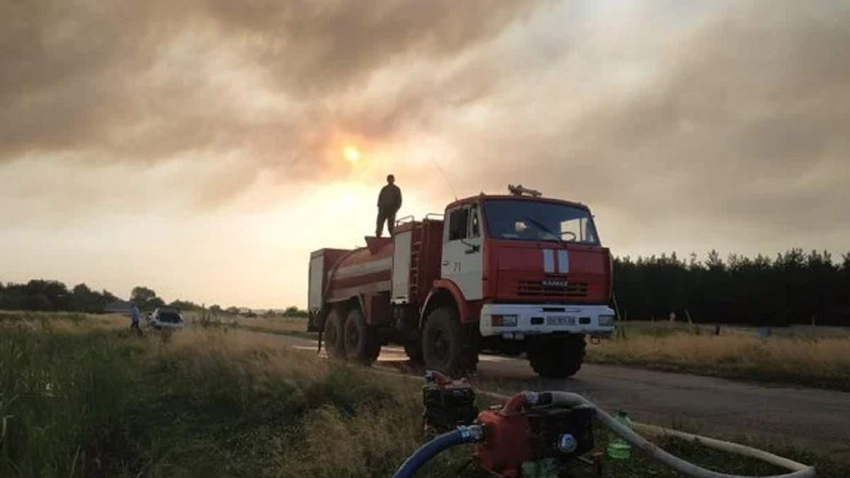 Пожары в Луганской области 7 июля 2020: причина возгораний