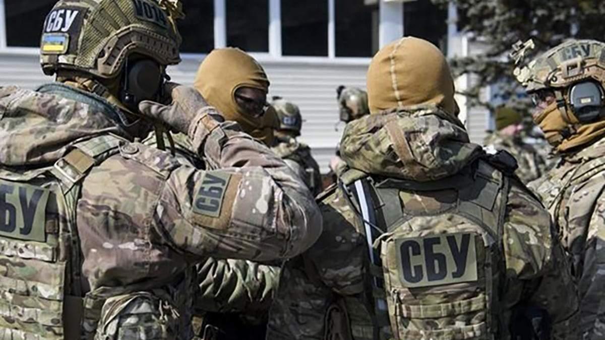 СБУ поймала куратора донецких боевиков 7 июля 2020: видео