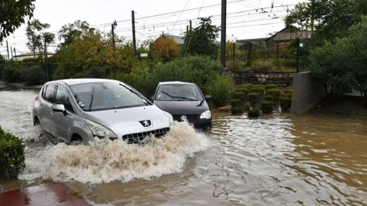 Непогода на Волыни: затоплены пять районов