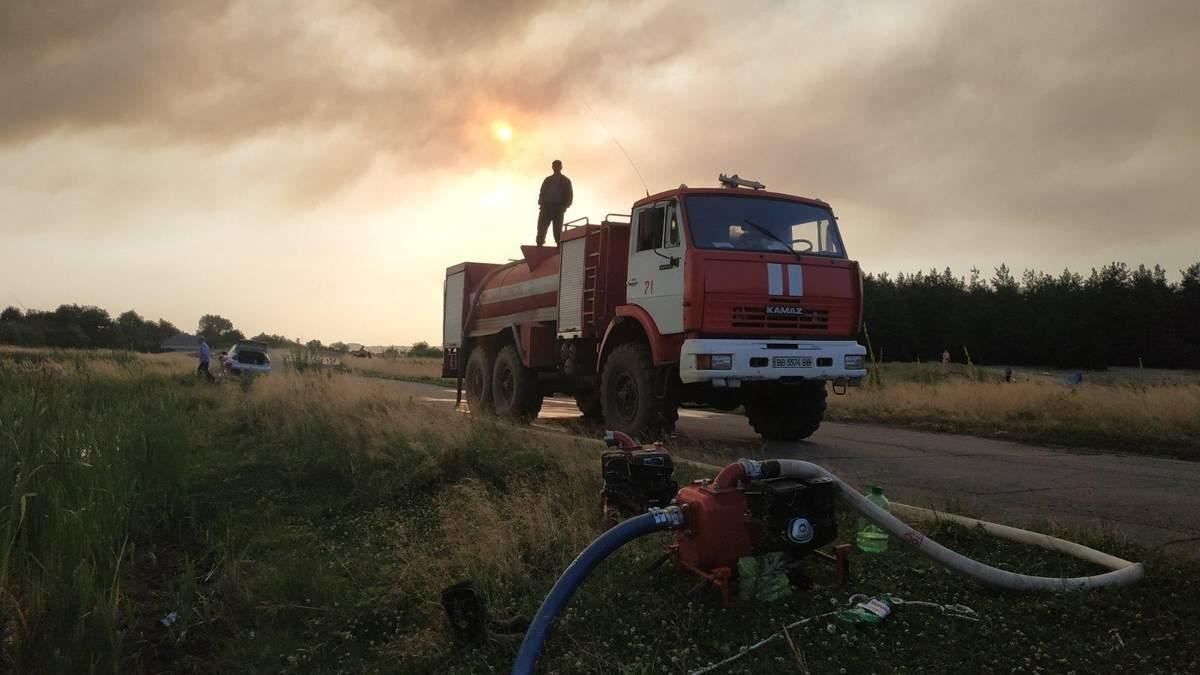 Пожар в Луганской области сегодня – последние новости пожара
