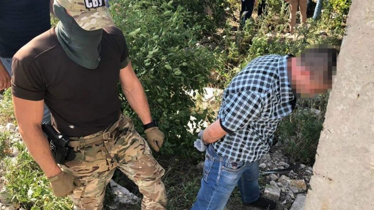 СБУ задержала диверсанта ФСБ