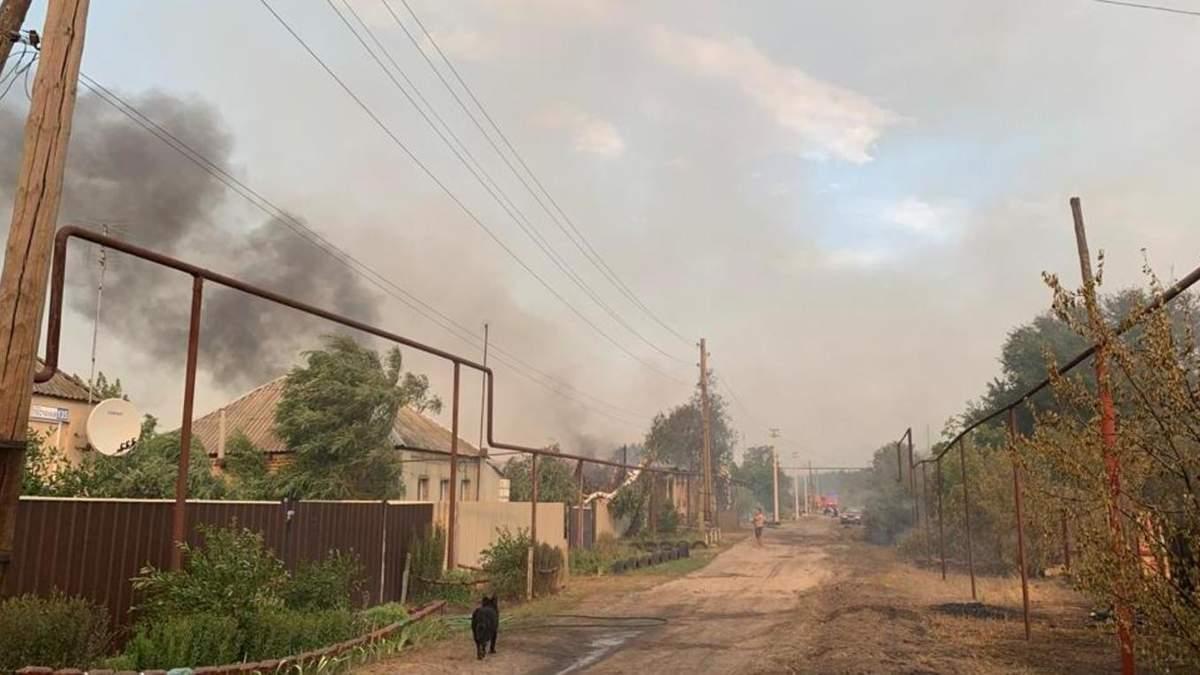 Пожары на Луганщине в июле 2020: есть жертвы – что известно