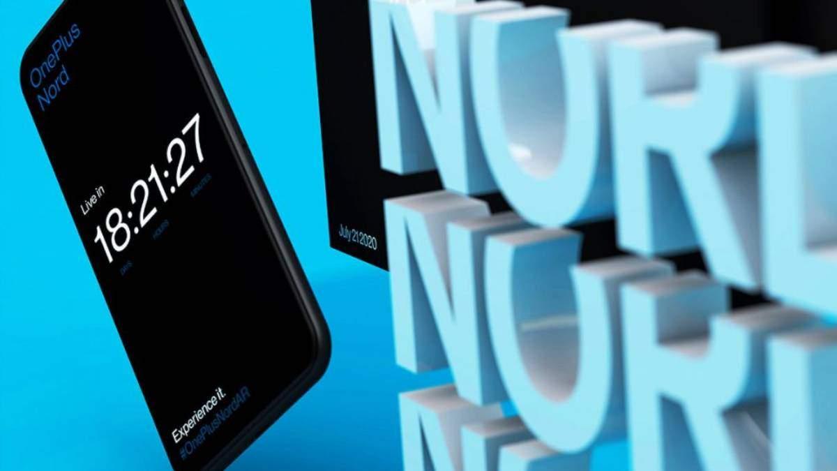 Презентация смартфона OnePlus Nord