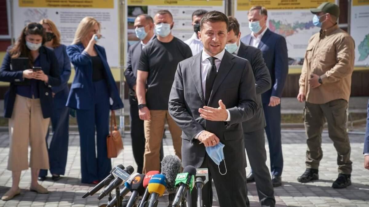 Помощь населенным пунктам, пострадавшим на Западе и Луганщине 2020
