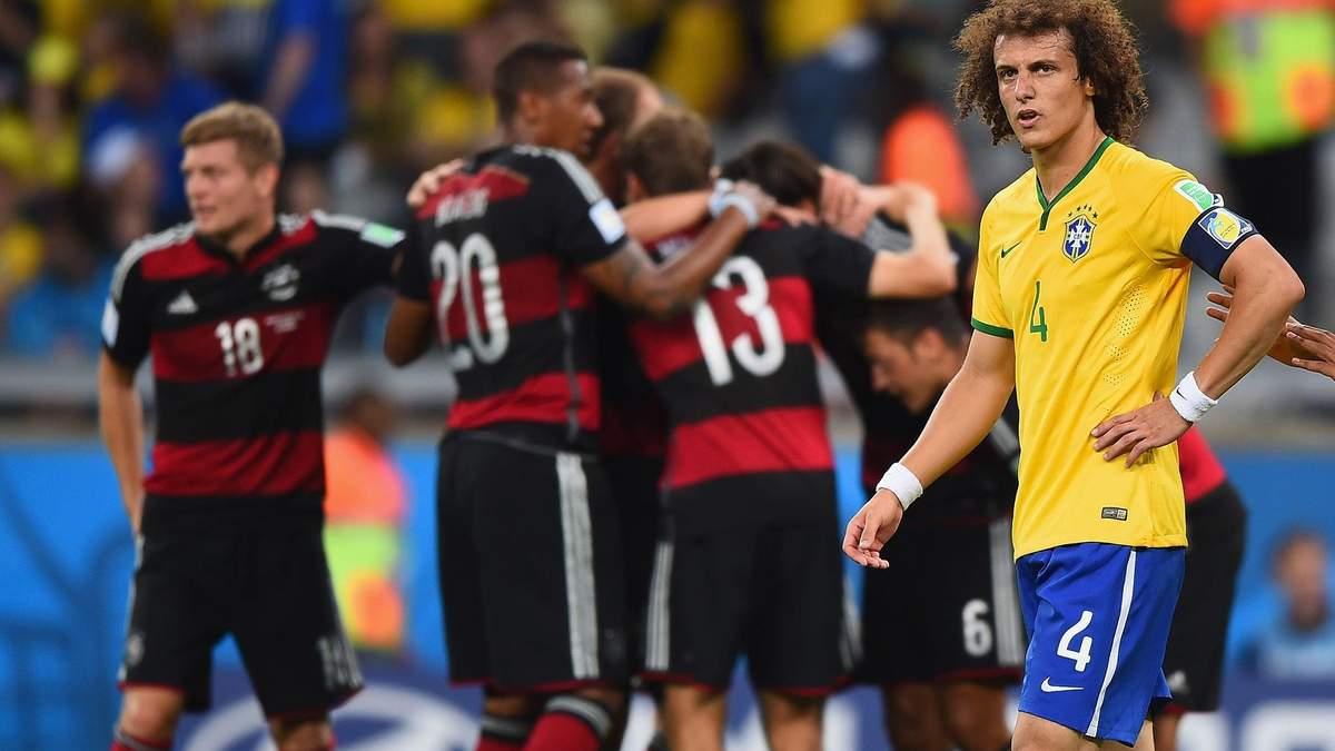Німеччина – Бразилія: огляд матчу 08.07.2014