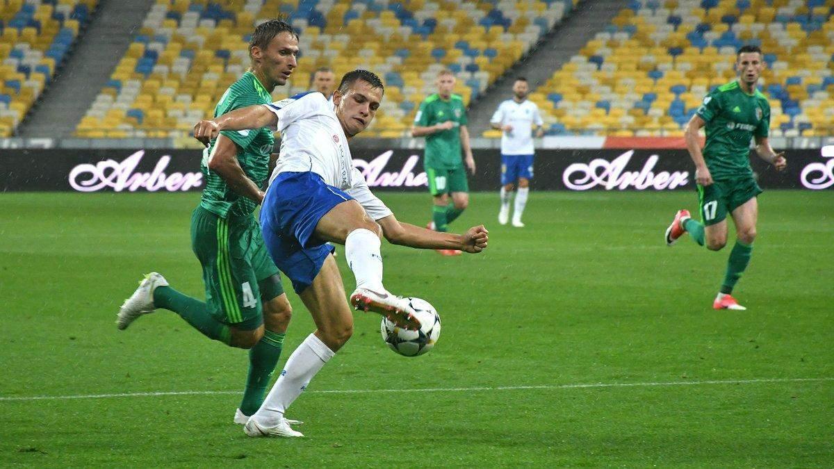 Динамо – Ворскла: стартовые составы