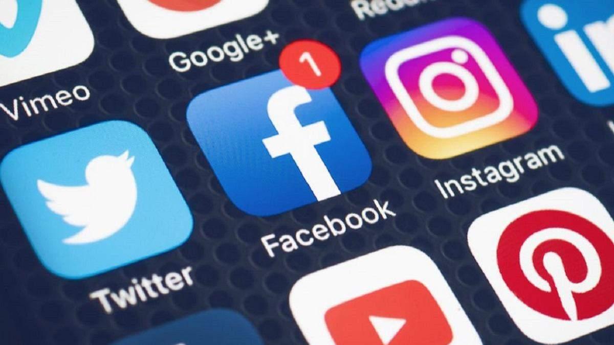 Facebook видалив понад сотню українських акаунтів з політичною агітацією