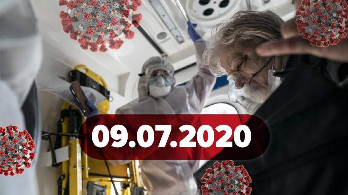 Коронавирус Украина, мир 9 июля 2020: статистика, новости
