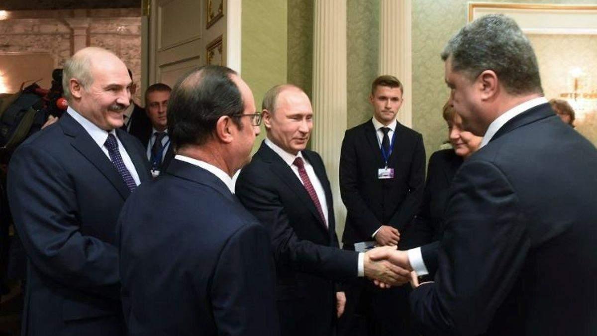 Розмова Порошенка і Путіна - чи була