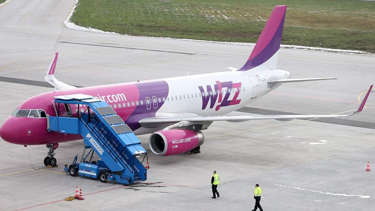 Wizz Air не будет выполнять рейс Киев - Таллинн до конца июля