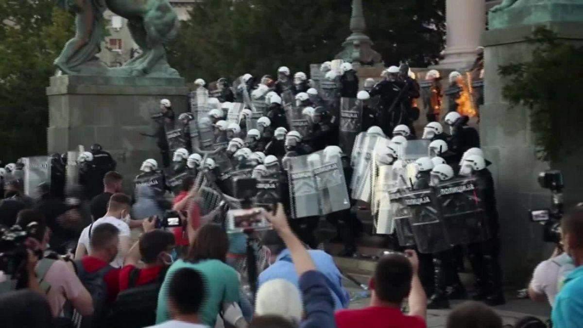 Протести у Белграді