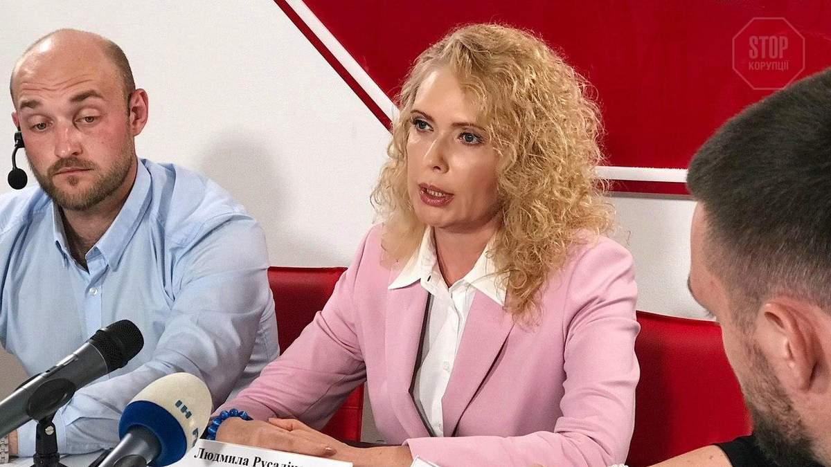 Русаліна заявила, що її партнер Петренко зізнався в причетності до замовних справ проти неї